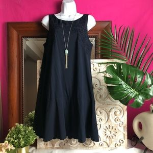 Brand New Loft Dress, Navy blue SZ large